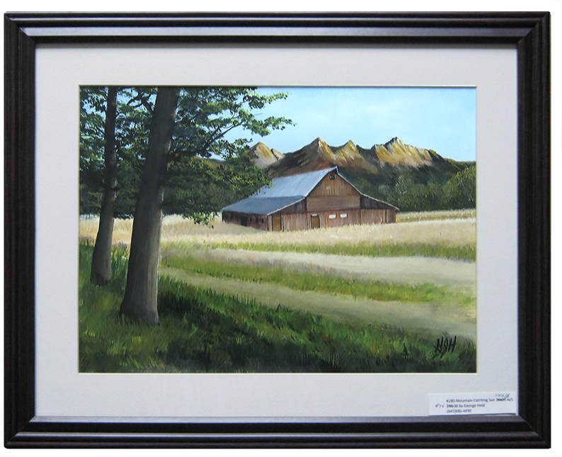 Catching Sun: Painting by Warwick, NY artist George Held