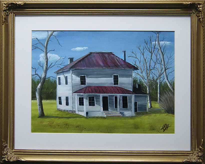 Milwaukee Lighthouse Painting by artist, George Held